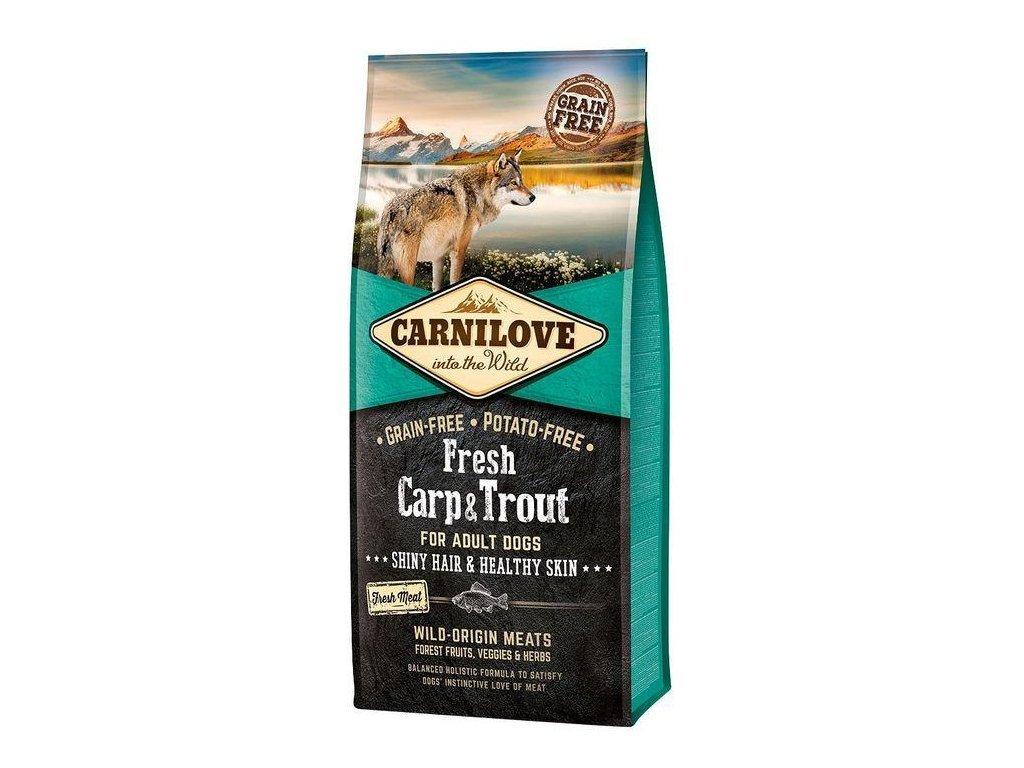 Carnilove Dog Fresh Carp&Trout adult 12 kg