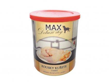 Sokol Max kuřecí kousky s mrkví 400g