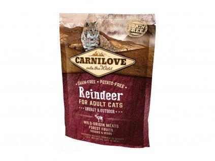 Carnilove Cat Reindeer Energy&Outdoor 400g