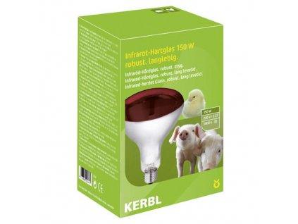 Kerbl žárovka vyhřívací 150W, červená