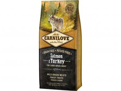 Carnilove Salmon & Turkey LB adult 12 kg