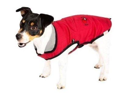 Antiparazitní obleček vesta, červená 24 cm
