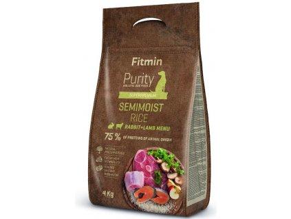 Fitmin dog Purity Rice Semimoist Rabbit,Lamb 4kg