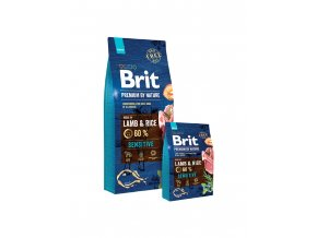 brit sensitive lamb a rice