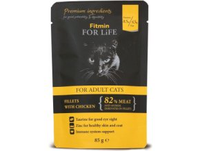 Fitmin FFL Cat POUCH Adult CHICKEN 85 g