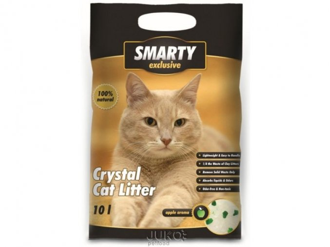 SMARTY exclusive silicagel apple aroma 10l