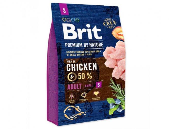 Brit Premium by Nature Adult S 3 kg