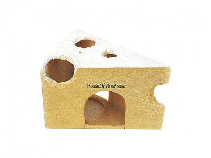 Domeček pro hlodavce - Sýr 12,5 cm