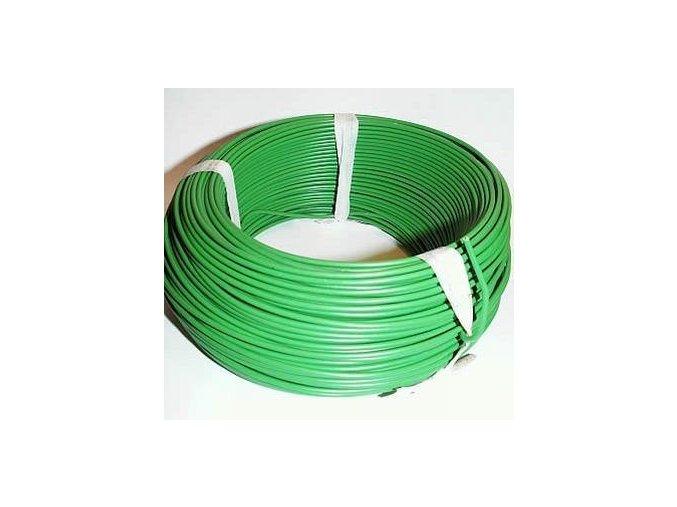 izolovany drat pro elektronicky ohradnik 100 m prurez 1 mm2