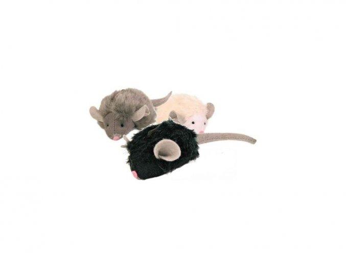 Mikročipová pištící myš