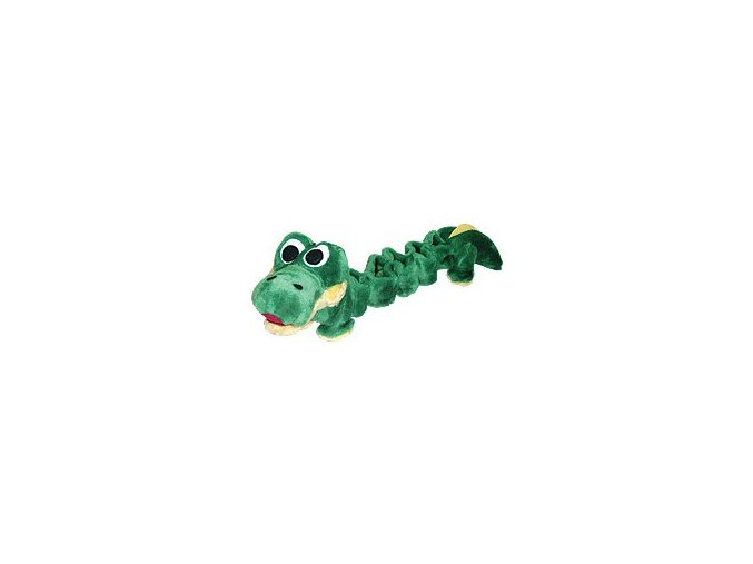 Bungee toy zelený krokodýl