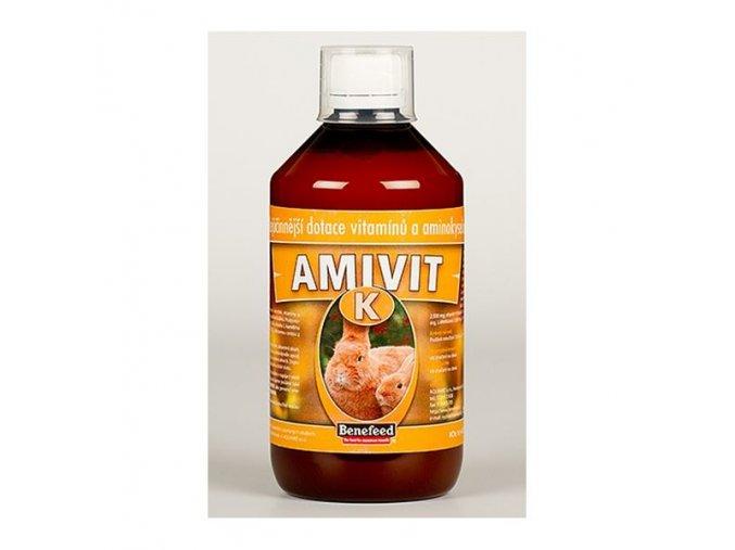 vitaminy a mineraly pro kraliky amivit k kralici 500ml