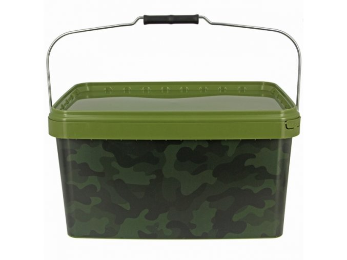 NGT Kbelík Medium Camo Bucket Square Deluxe 10l