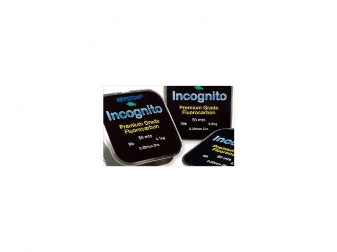 Kryston Incognito Fluocarbon 15lb - 50m