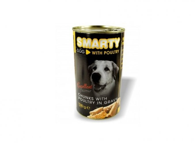 SMARTY Dog konzerva 1240g