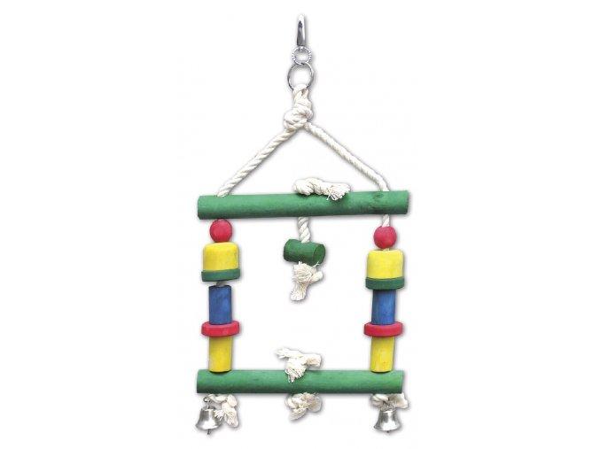 Hračka pro velké papoušky 595, 31x18cm