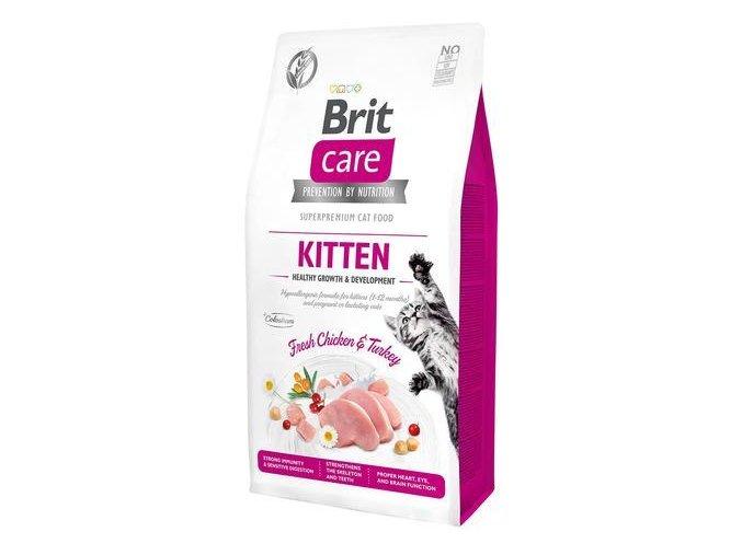 Brit Care Cat GF Kitten Healthy Growth&Development