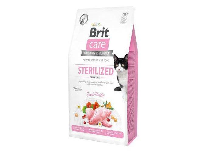 Brit Care Cat GF Sterilized Sensitive