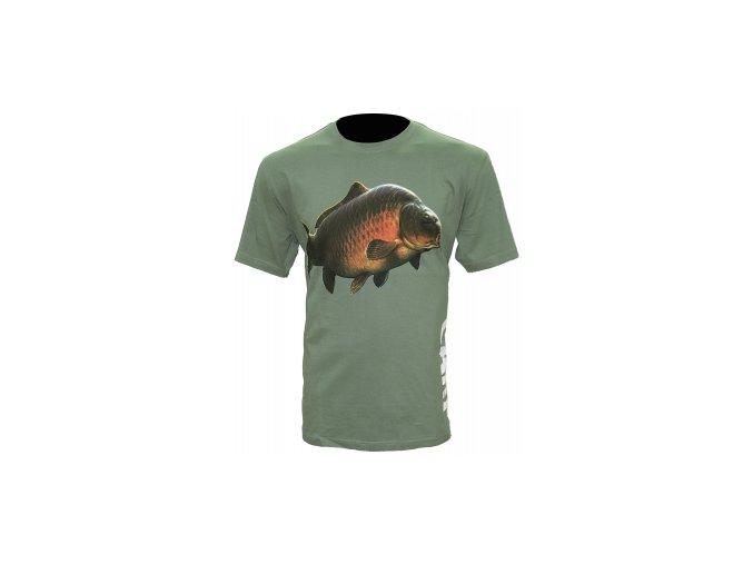 Tričko Carp T-Shirt Olive Green velikost M,L,XL,XXL