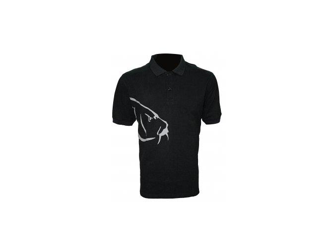 Tričko Carp Polo T-Shirt Black velikost M,L,XL,XXL