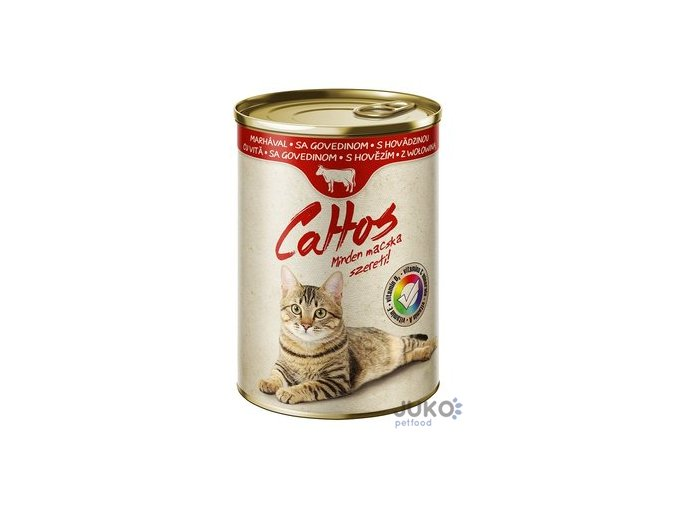 Cattos Cat with Beef 415g