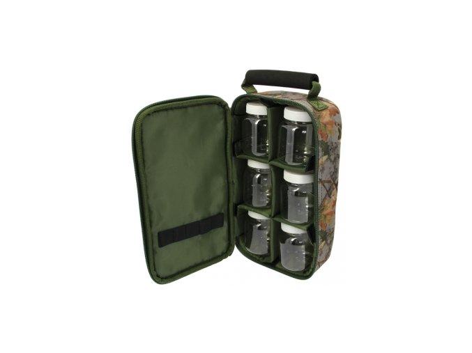 6 pot green glug bag in camo 1 1