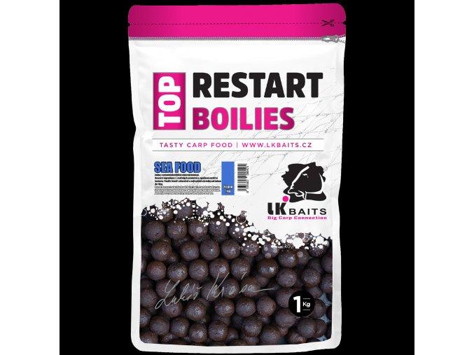 LK Baits Top ReStart Boilies Sea Food 1kg