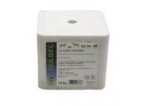 solny liz solsel normal pro kone dobytek ovce kozy a zver 10 kg