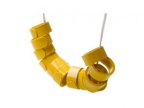 Kroužky pro slepice 12ks různé barvy dle skladu