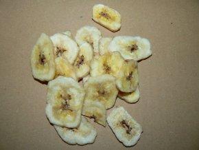 banánové chipsy 150g