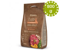 Fitmin dog Purity GF Adult Mini Beef 800 g