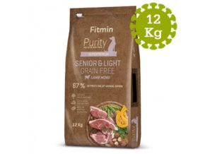 Fitmin dog Purity GF SeniorandLight Lamb
