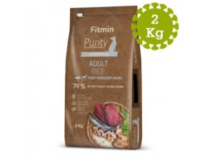 Fitmin dog Purity Rice Adult FishandVeniso2 kg