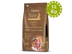 Fitmin dog Purity Rice Puppy LambandSalmon 12 kg