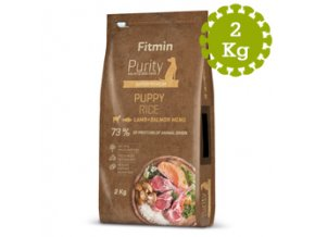 Fitmin dog Purity Rice Puppy LambandSalmon 2 kg
