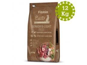 Fitmin dog Purity Rice Sen andLight Ven 12 kg