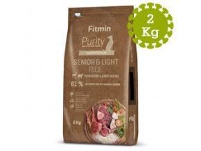 Fitmin dog Purity Rice Sen andLight Ven 2 kg