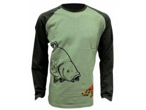 Tričko Boilie T-Shirt Long Sleeve  velikost M,L,XL,XXL