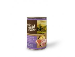 44603 sams field true salmon and chicken meat with potato 400 g 0