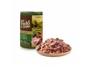 44601 sams field true chicken meat and carrot 400 g 0