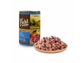 44602 sams field true lamb meat and apple 400 g 0