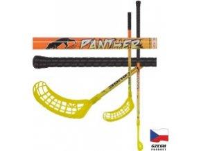 Floorbalová hokejka PANTHER 95cm levá