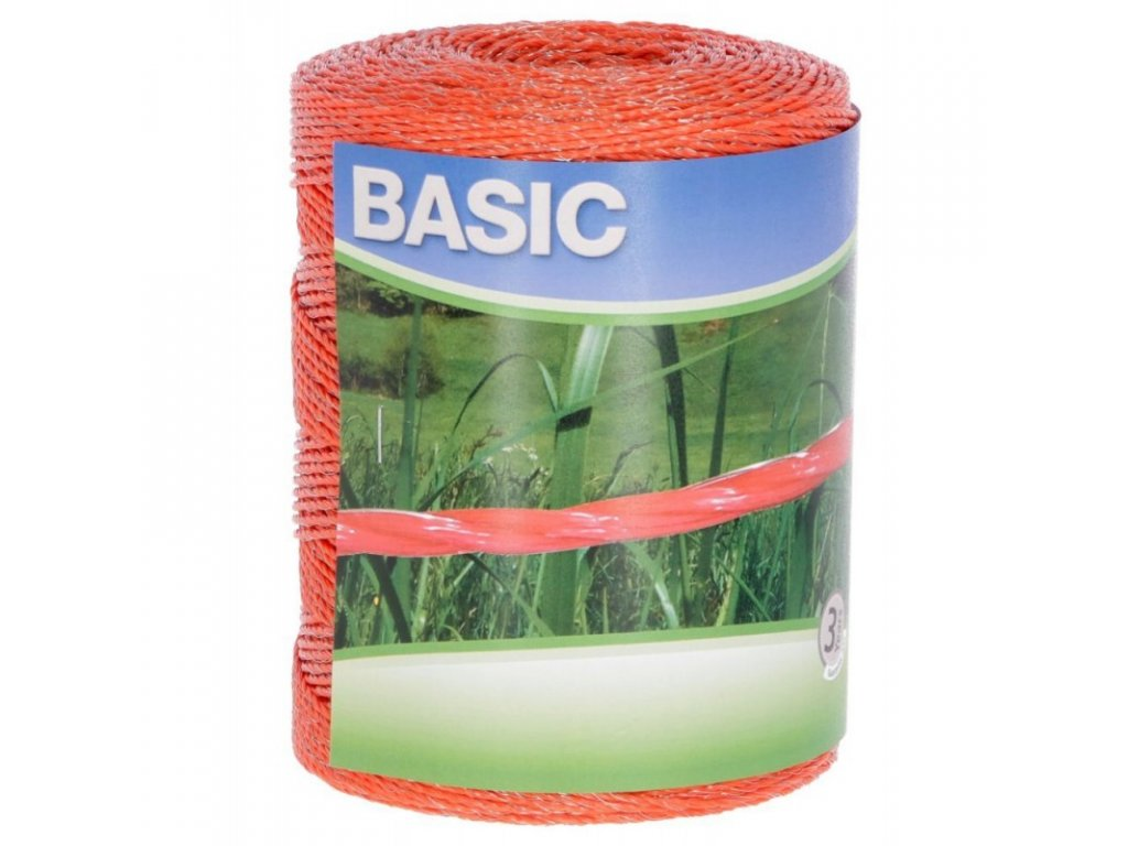 lanko basic pro el ohradnik 500 m 3x fesn 016 mm oranzove