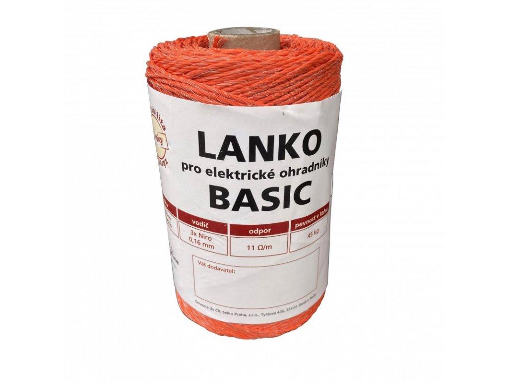 Lanko BASIC pro el. ohradník, 3x0,16 mm Niro, 250 m