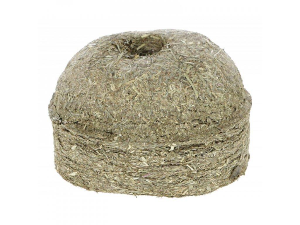 Pamlsek závěsný pro koně DELIZIA HaySwing, 1 kg, natural