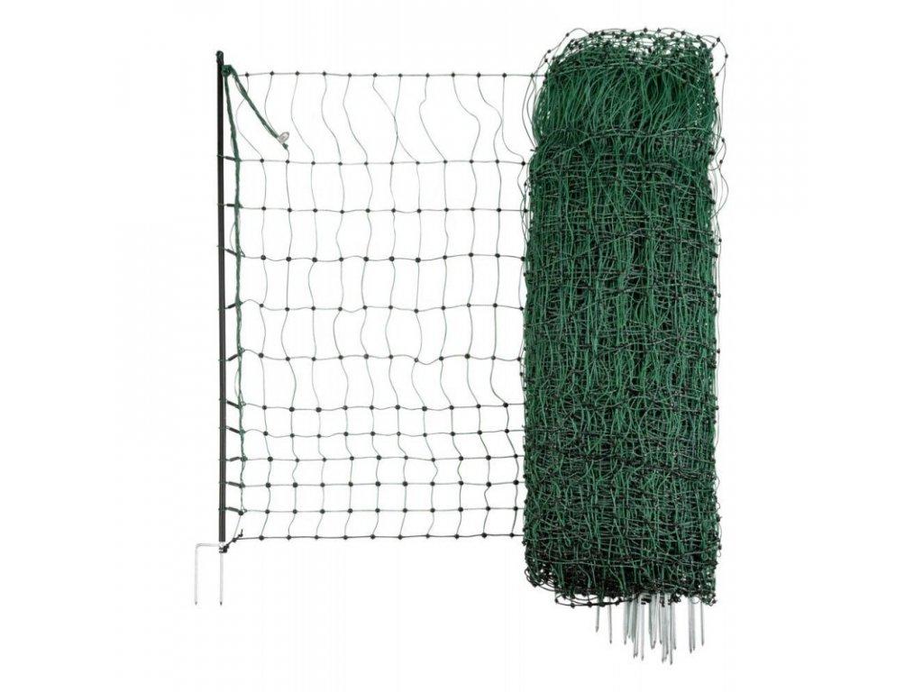 Síť nevodivá pro drůbež 106 cm, 106 cm x 50 m / 1 hrot