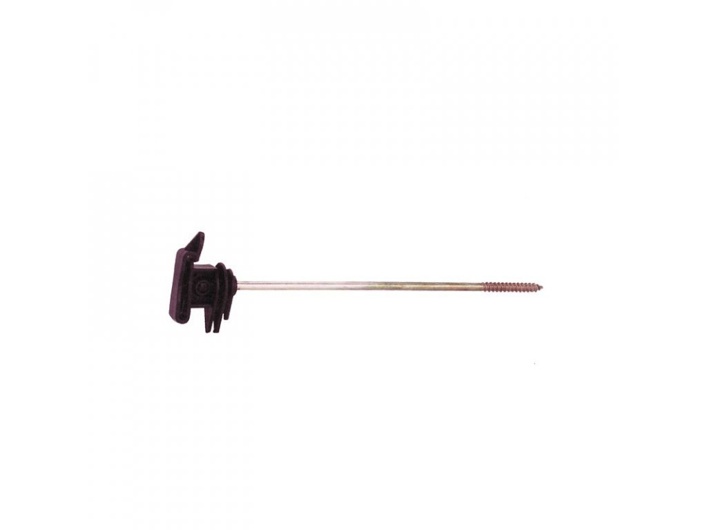 izolator paskovy distancni pro elektricky ohradnik s vrutem 16 cm