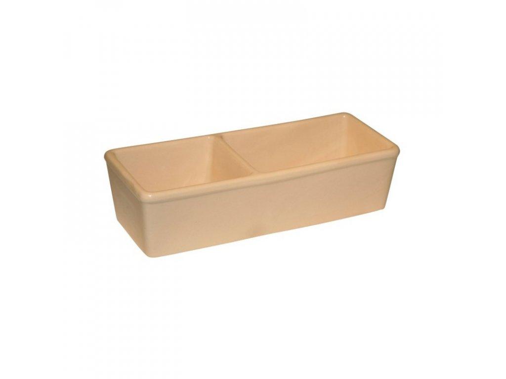 miska na krmivo keramicka hranata dvojita (1)