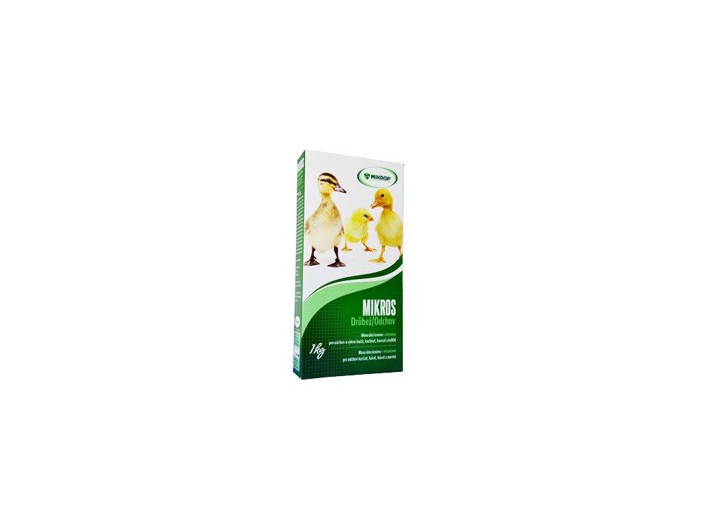 Mikros Drůbež - odchov s vitamíny, 1kg