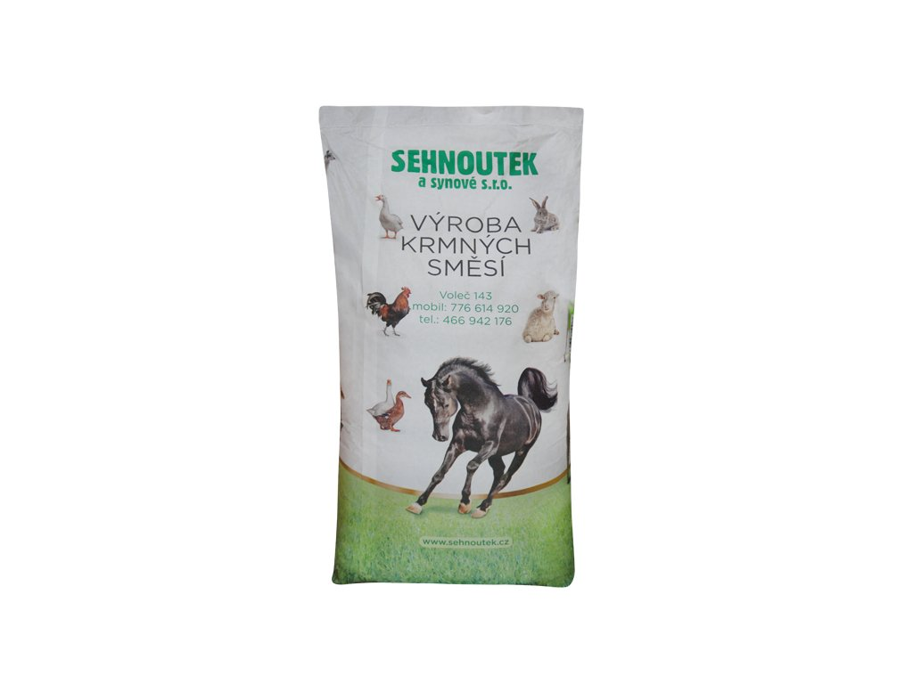 KKV - kompletní krmivo pro výkrm králíků bez antikocidika
